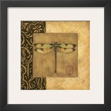 Dragonfly Square Posters by Susan Winget