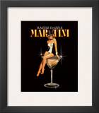 Razzle Dazzle Martini Art by Ralph Burch