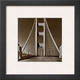 The Golden Gate Bridge, Summer Morning Print