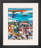 Hills of San Francisco Print by Linnea Pergola