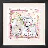 Ours Rose Prints by Joelle Wolff