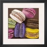 7 Macarons Posters by Béatrice Hallier
