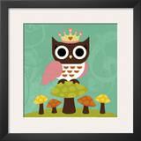 Princess Owl Posters by Nancy Lee