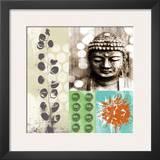 Buddha I Print by Linda Woods