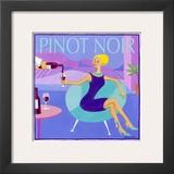 Pinot Noir Poster by Jennifer Brinley
