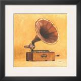 Antique Phonograph Posters by  Conde