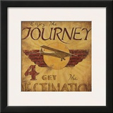 Enjoy The Journey Posters by Janet Kruskamp