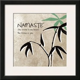 Namaste Prints by Linda Woods