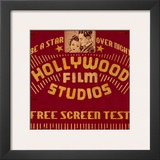 Hollywood Film Studios Art by Bruce Jope