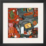 Robot I Print by Isabelle Cochereau