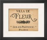 Villa de Fleur Prints