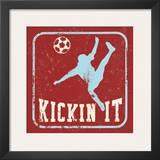 Kickin It Prints by Peter Horjus