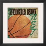Nothin But Net Prints by Jo Moulton