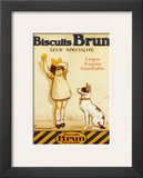 Biscuits Brun Poster by George Redon