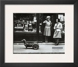 Le Chien a Roulettes, c.1977 Art by Robert Doisneau