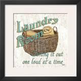Laundry Room I Prints by Debbie DeWitt
