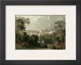 Ainwick Castle Art by T. Allom