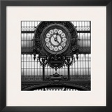 Paris Clock I Poster by Alison Jerry