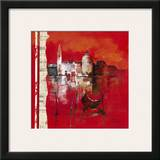 Venise Reflets Prints by Annie Manero
