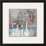 Asia Vases Posters by Helene Druvert