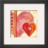 Pop Hearts III Prints by Nancy Slocum