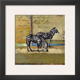Serengeti Zebra Prints by  Fischer & Warnica