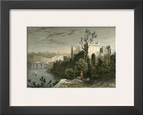 Chepstow Castle Prints by T. Allom