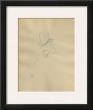 Dessins : Tête d'homme Prints by Henri de Toulouse-Lautrec