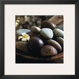 Bowl with Pebbles Prints by Jean-Michel Ruiz