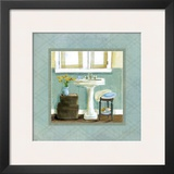 Bath Essentials I Prints by Carol Robinson
