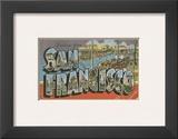 Greetings from San Francisco Prints