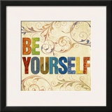 Be Yourself Prints by Elizabeth Medley