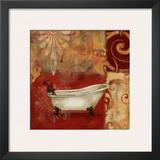 Scarlet Bath II Posters by Carol Robinson