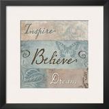 Inspiration I Print by Elizabeth Medley