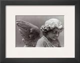 Sad Little Angel Print by Lilo Raymond
