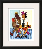 Cafe Prints by William H. Johnson