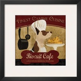 Biscuit Café Print by Conrad Knutsen