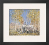 Guide's Home, Algonquin Print by Arthur Lismer