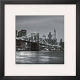 Brooklyn Bridge Posters by Torsten Hoffmann