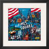 Times Square 5th Avenue Art by Sophie Wozniak