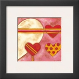 Pop Hearts I Poster by Nancy Slocum