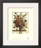 Twelve Months of Flowers, 1730, November Poster by Robert Furber