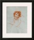 Dessins : Berthe Bady Posters by Henri de Toulouse-Lautrec