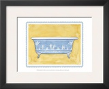 English Bath Print by Ginny Joyner