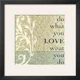 Do What You Love Posters by John Spaeth