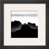 Haungshan Mountains, Study no. 2, Anhui, China Prints by Michael Kenna