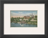 Georgetown from the Potomac River Poster