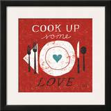 Cook Up Love Posters by Michael Mullan
