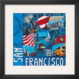 San Francisco Posters by Sophie Wozniak