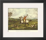 The English Hunt VI Poster by Henry Thomas Alken